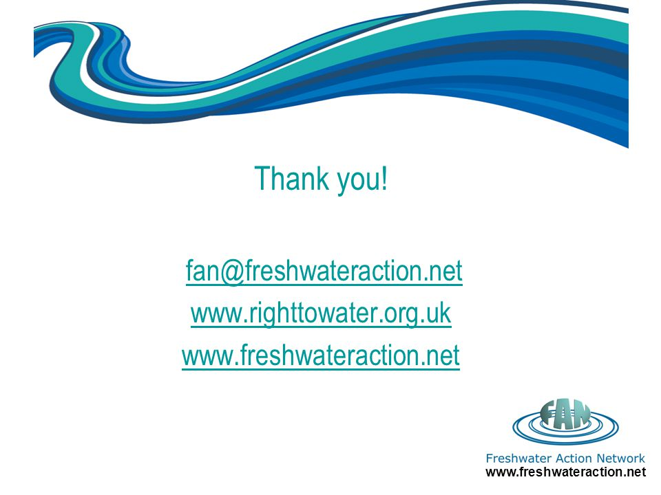 www.freshwateraction.net Thank you.