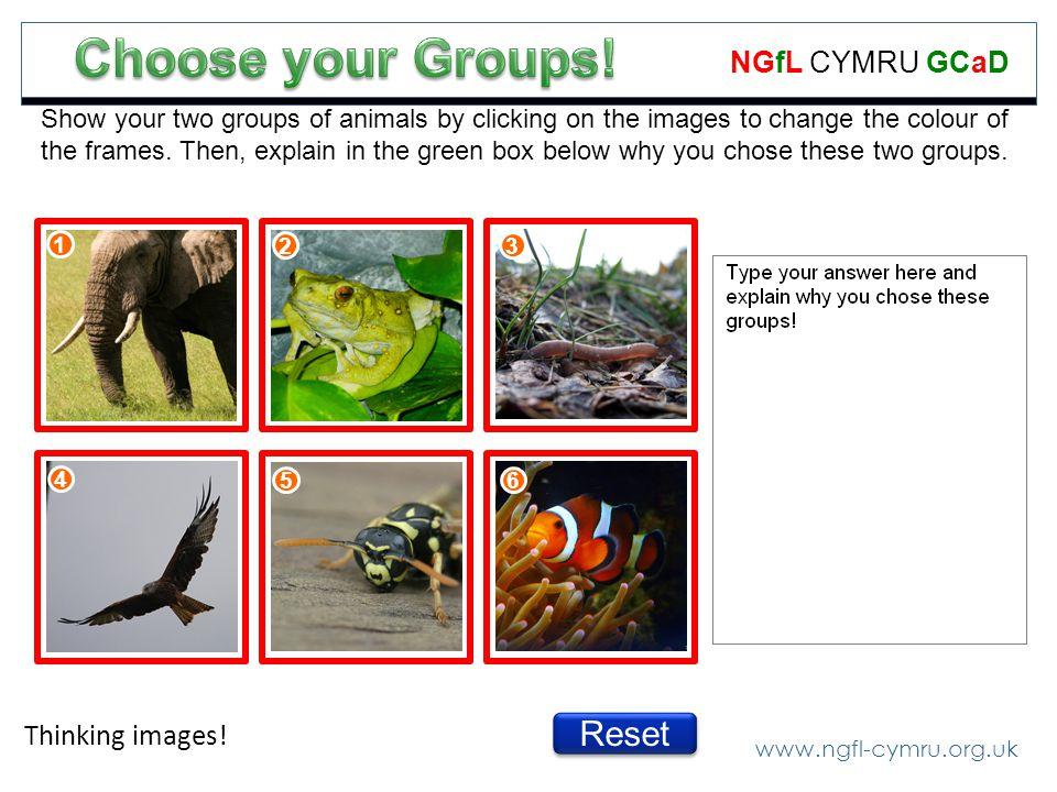 www.ngfl-cymru.org.uk NGfL CYMRU GCaD Thinking images.