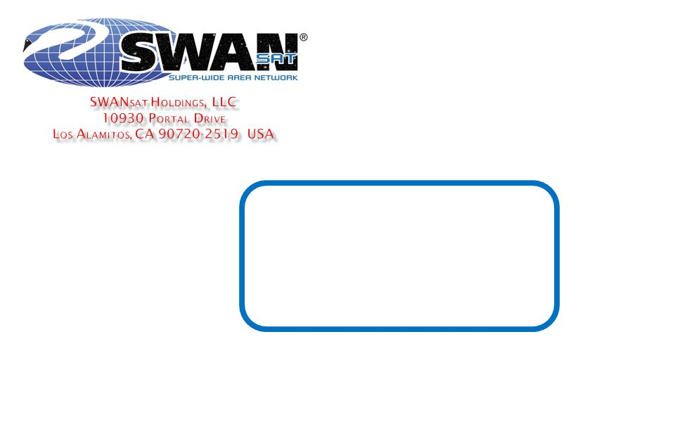 Proprietary and Confidential. Copyright © 2012 SWANsat Holdings, LLC.