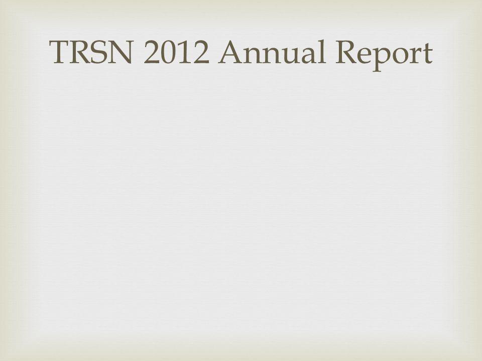 TRSN 2012 Annual Report