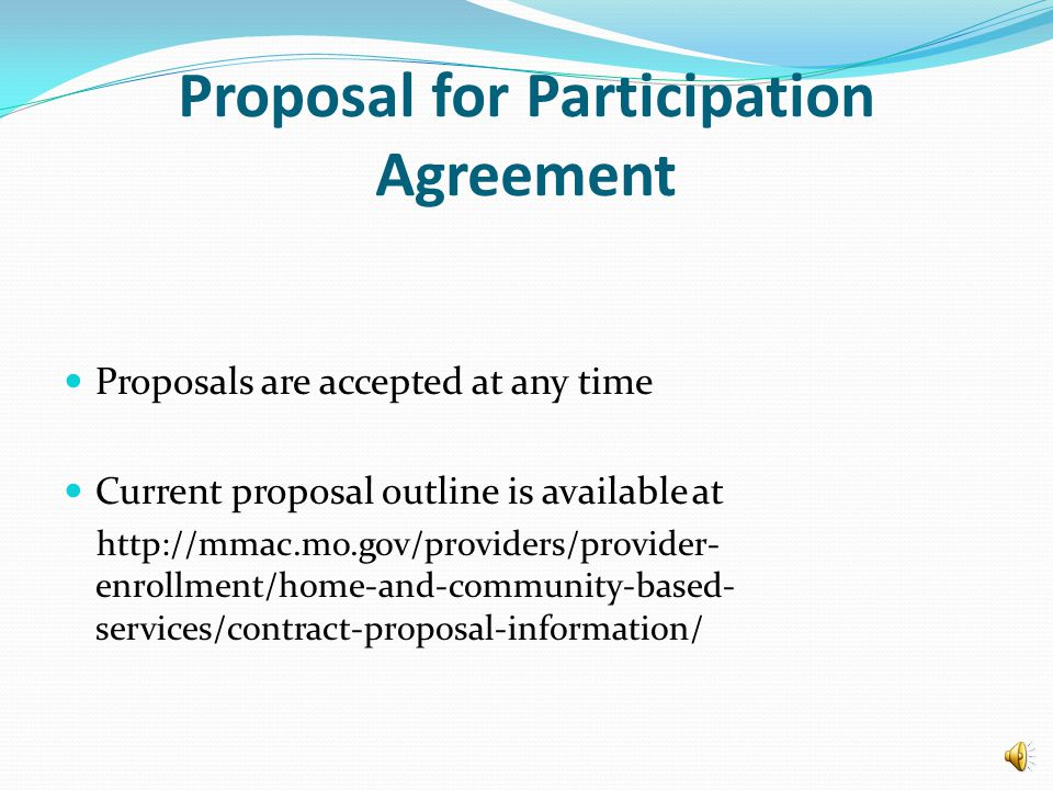 Medicaid Provider SSBG/GR Contracted Provider SSBG/GR Proposal