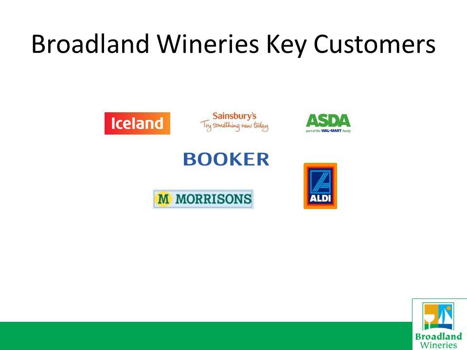 Broadland Wineries Key Customers