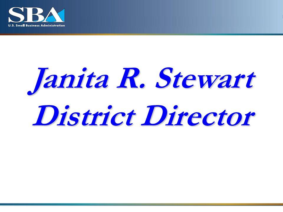 Janita R. Stewart District Director
