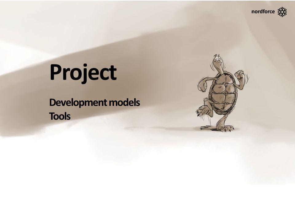 Project Development models Tools