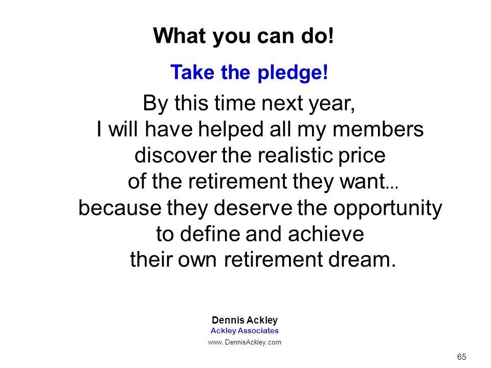 Take the pledge.
