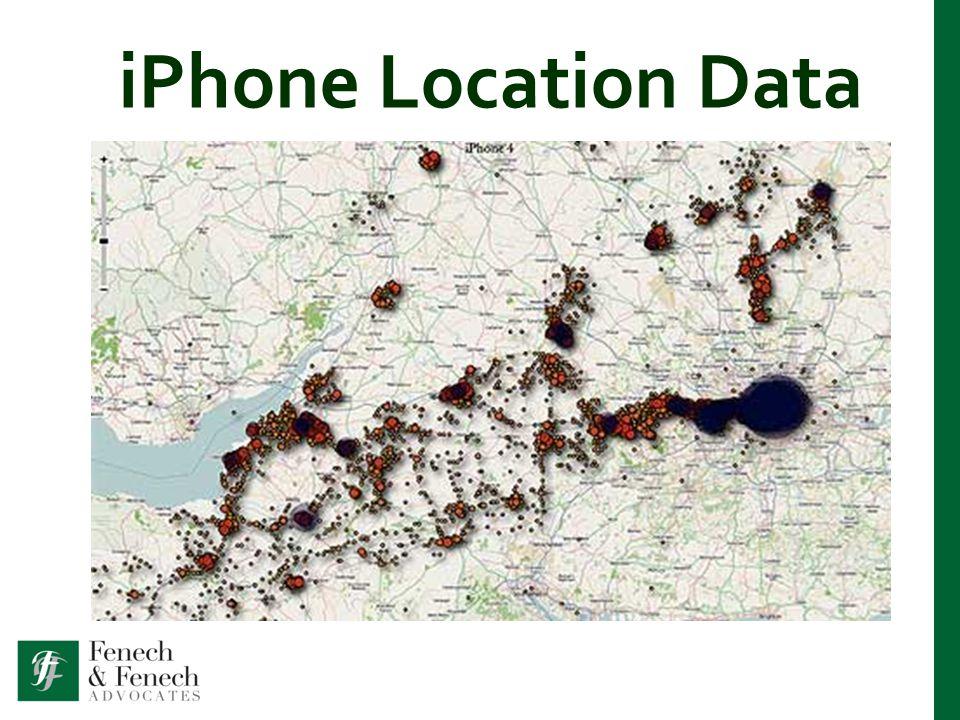 iPhone Location Data