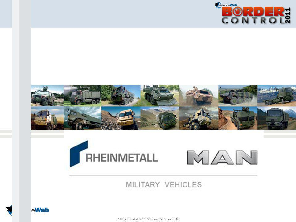 © Rheinmetall MAN Military Vehicles 2010