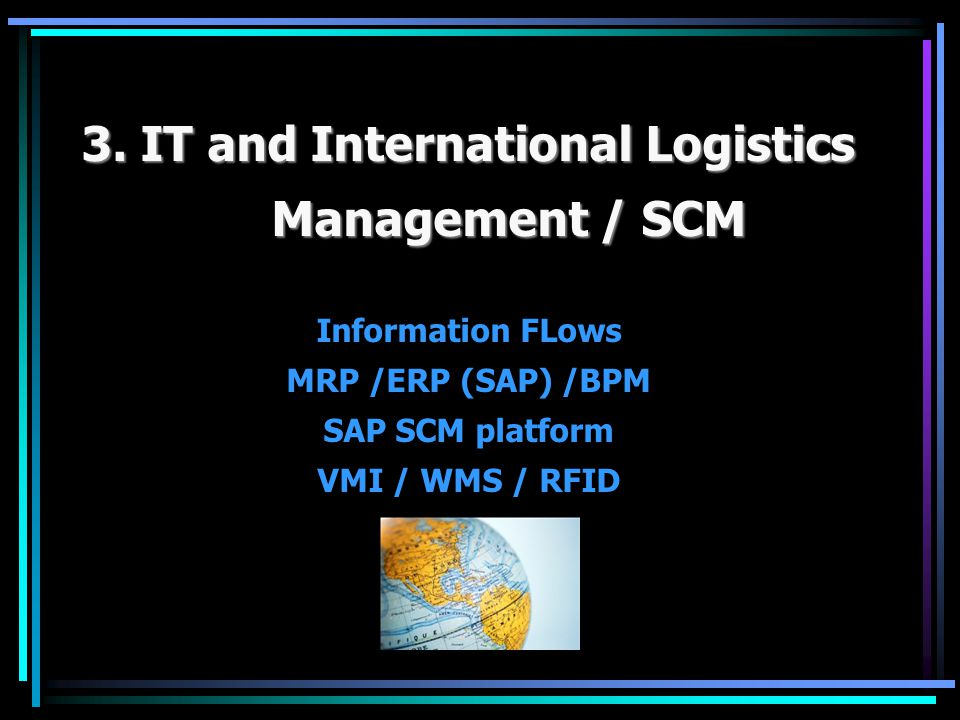 EPC / BPM EPC / BPM SAP ERP SAP ERP Sales and Distribution (ERP)