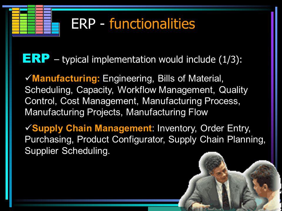 How ERP system works FI EDI SCM CRM E-com. Marketplace Portals Mobile