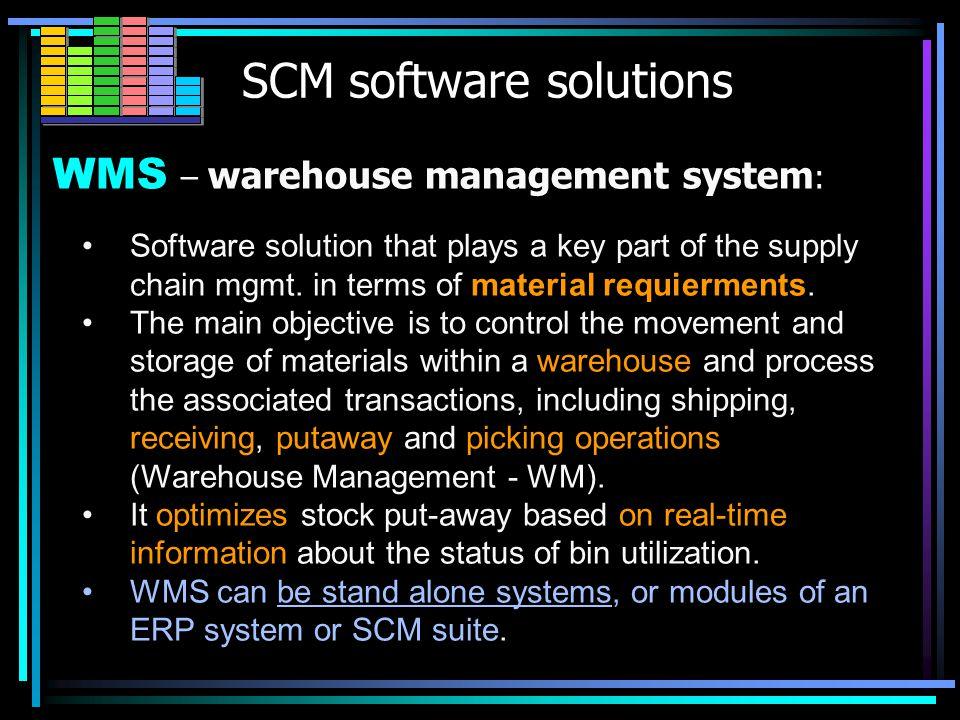 VMI / WMS / RFID