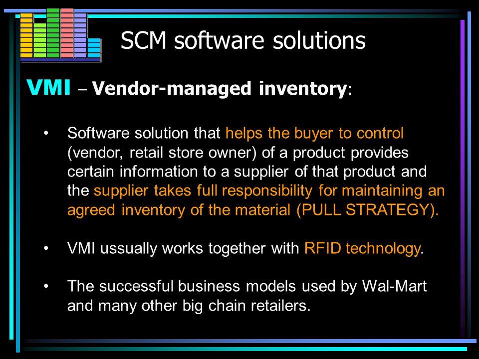 SCM software solutions WMS WMS – warehouse management system :