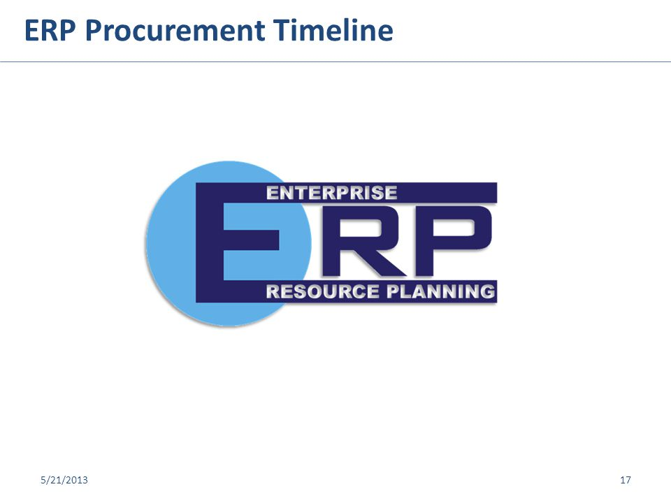 © 2013 PKING Consulting, Inc. | PACERS CM&T® & Broward County ERP Procurement Timeline 5/21/201317
