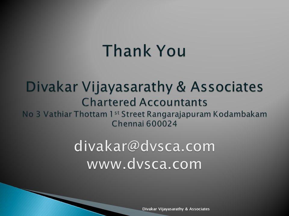 Divakar Vijayasarathy & Associates