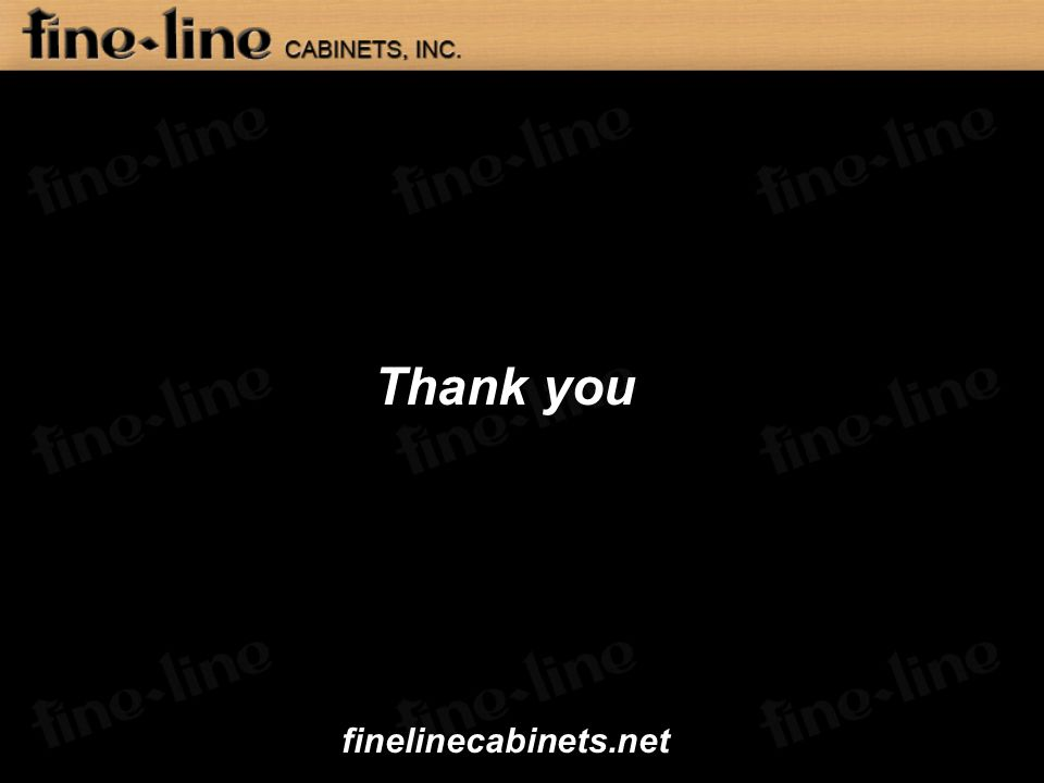 Thank you finelinecabinets.net