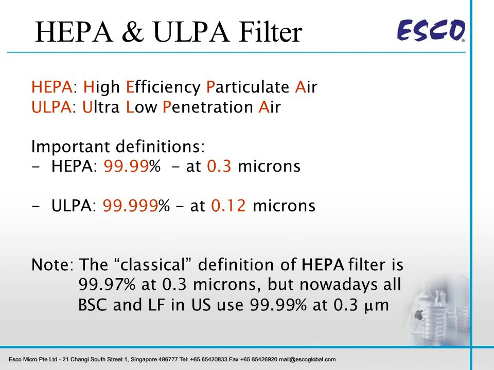 Proper Installation / Location Exhaust filter area: Especially susceptible to disruptive air currents.