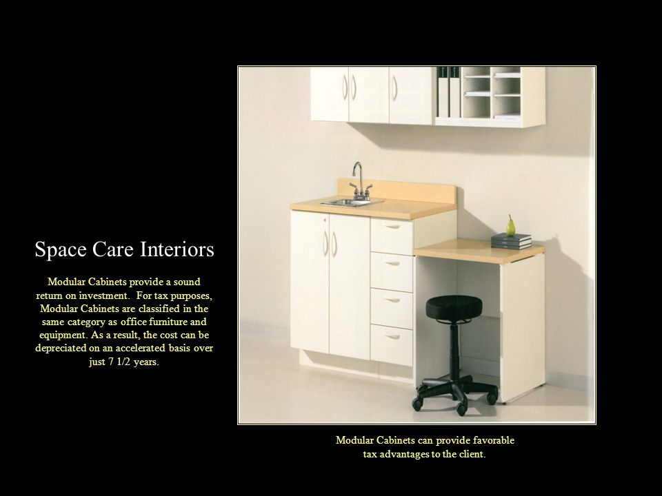 Modular Cabinets provide a sound return on investment.