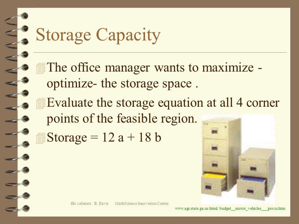 file cabinets B.