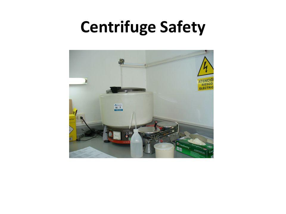 Centrifuge Safety