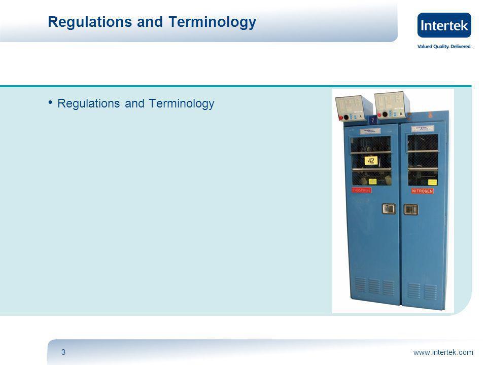 www.intertek.com3 Regulations and Terminology