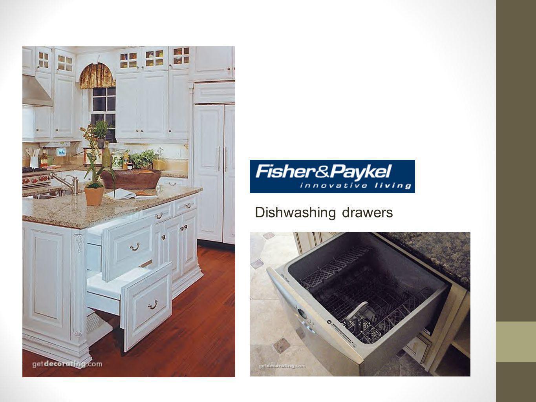 Dishwashing drawers
