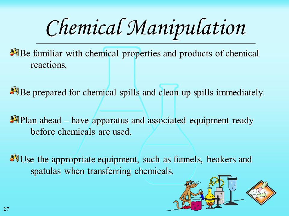 26 Chemical Manipulation