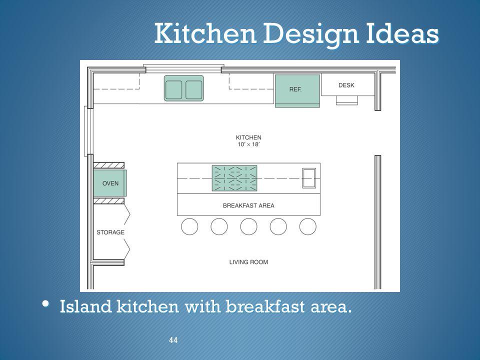 Kitchen Design Ideas Island kitchen with breakfast area. Island kitchen with breakfast area. 44