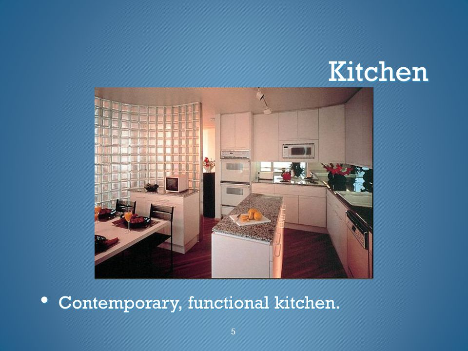 Kitchen Contemporary, functional kitchen. Contemporary, functional kitchen. 5