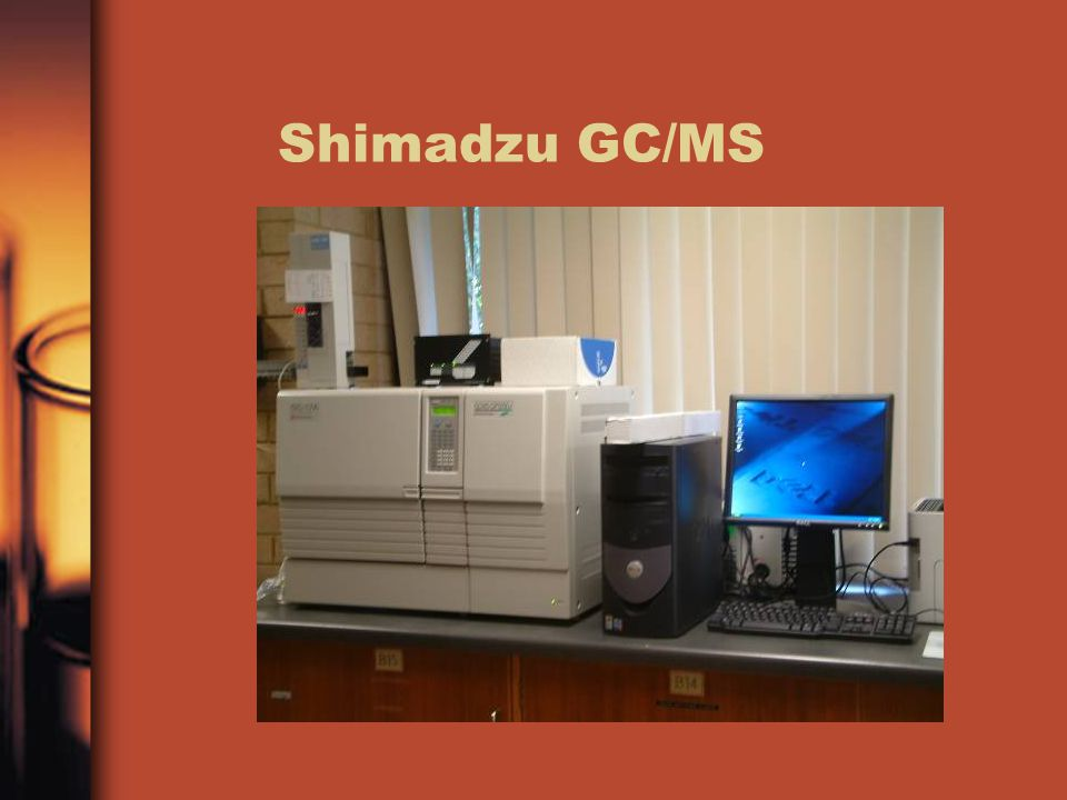 Shimadzu GC/MS