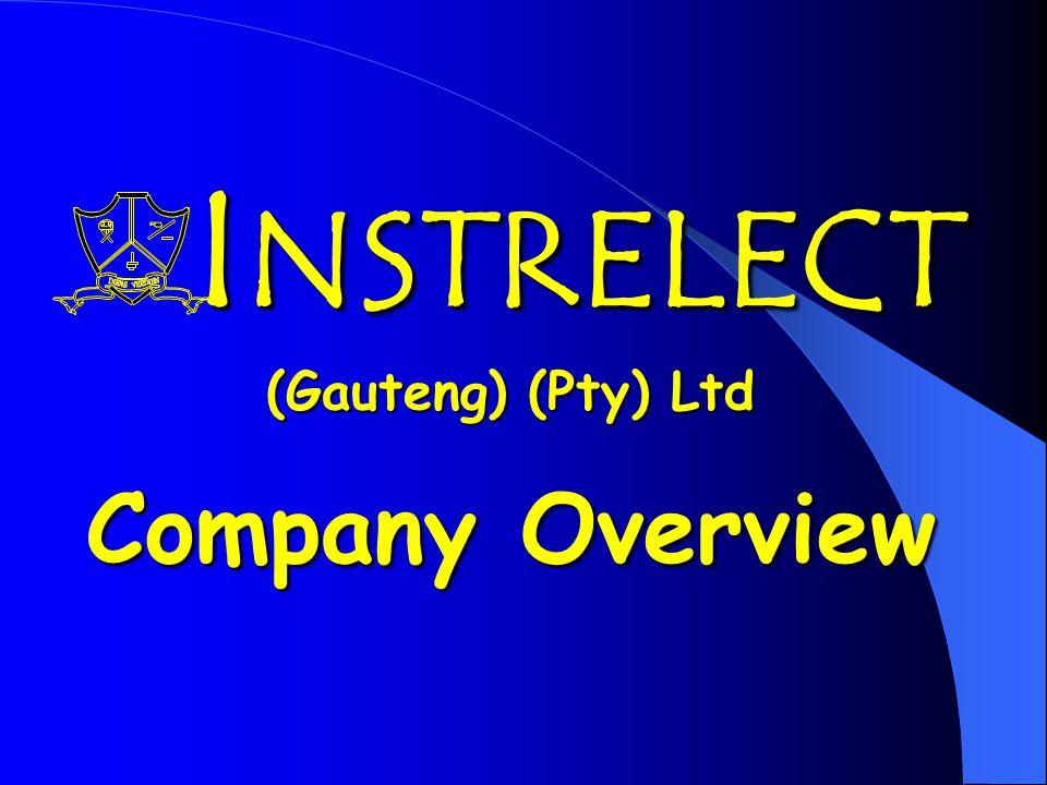 I NSTRELECT (Gauteng) (Pty) Ltd Company Overview I NSTRELECT (Gauteng) (Pty) Ltd Company Overview