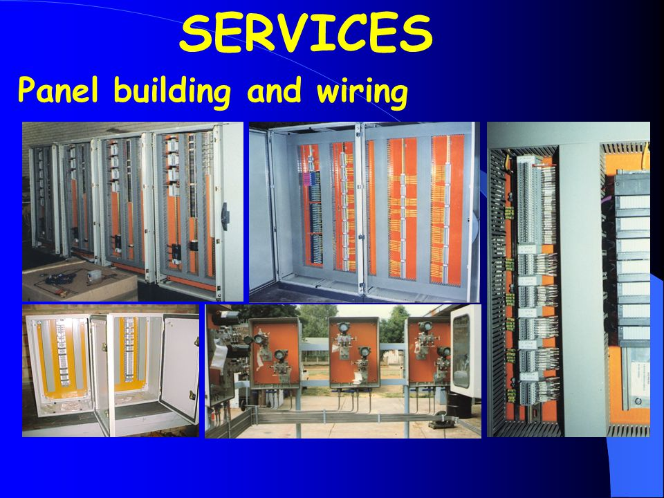 Panel building and wiring SERVICES