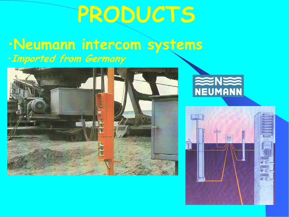 Neumann intercom systems Imported from Germany PRODUCTS