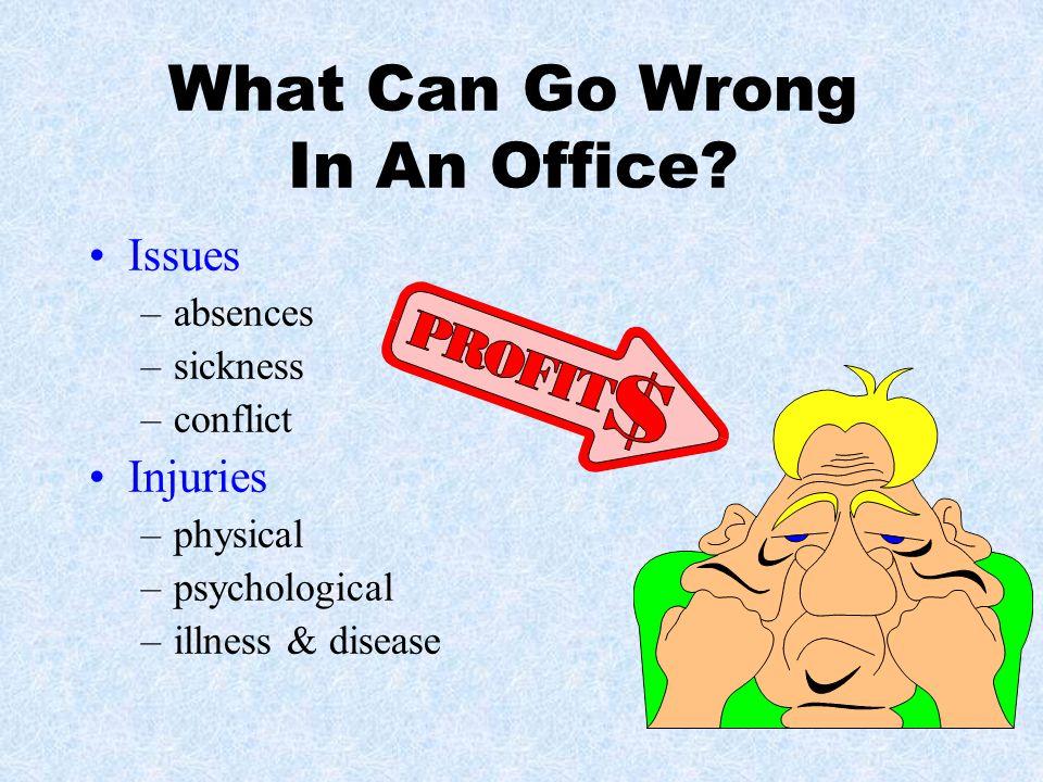 Office Lighting & Illumination Adjust lighting to prevent eye strain.