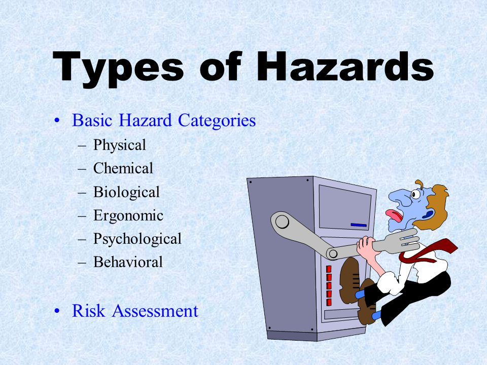 Electrical Safety Be aware of electrical hazards.