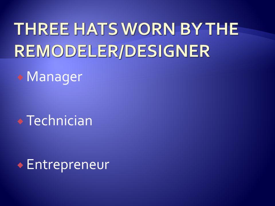 Manager Technician Entrepreneur