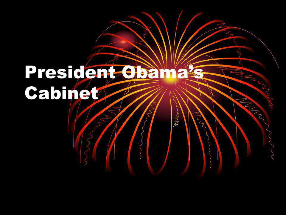 President Obamas Cabinet