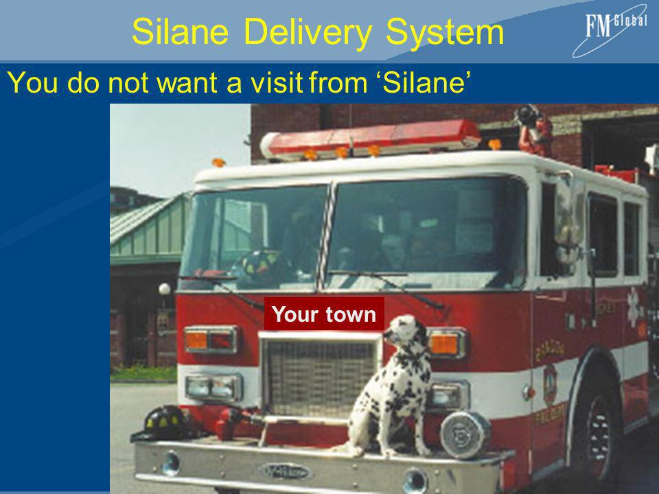 Silane Delivery System You do not want a visit from Silane Your town