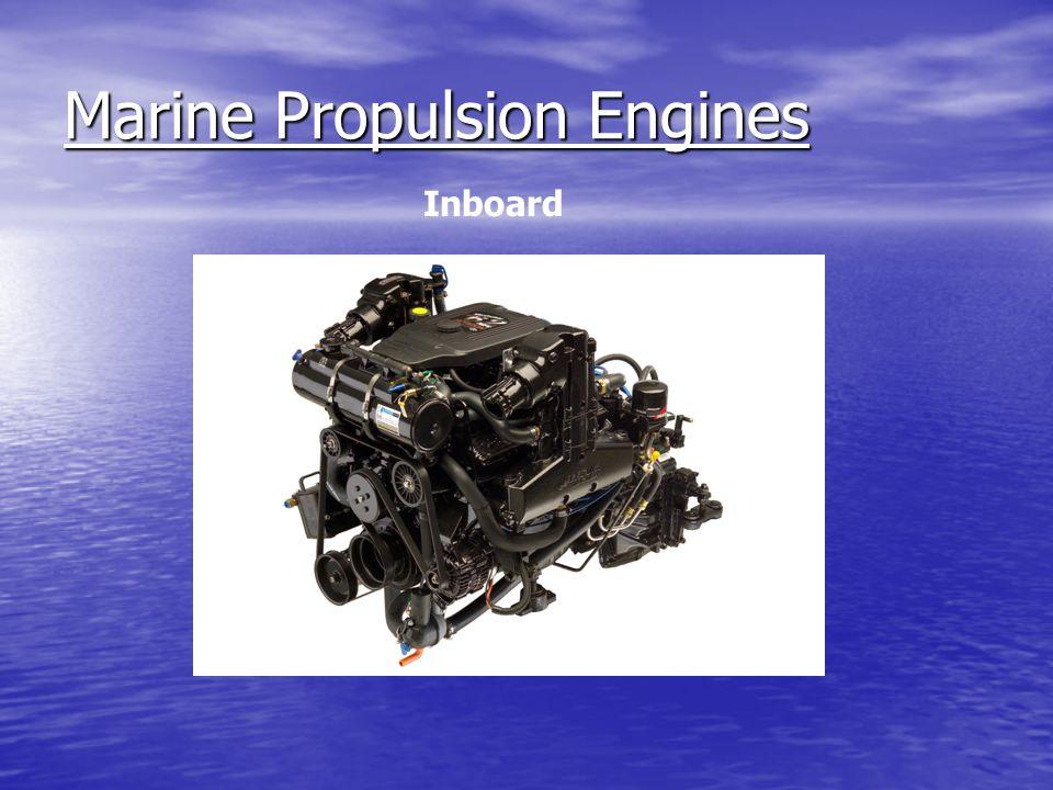 Marine Propulsion Engines Inboard