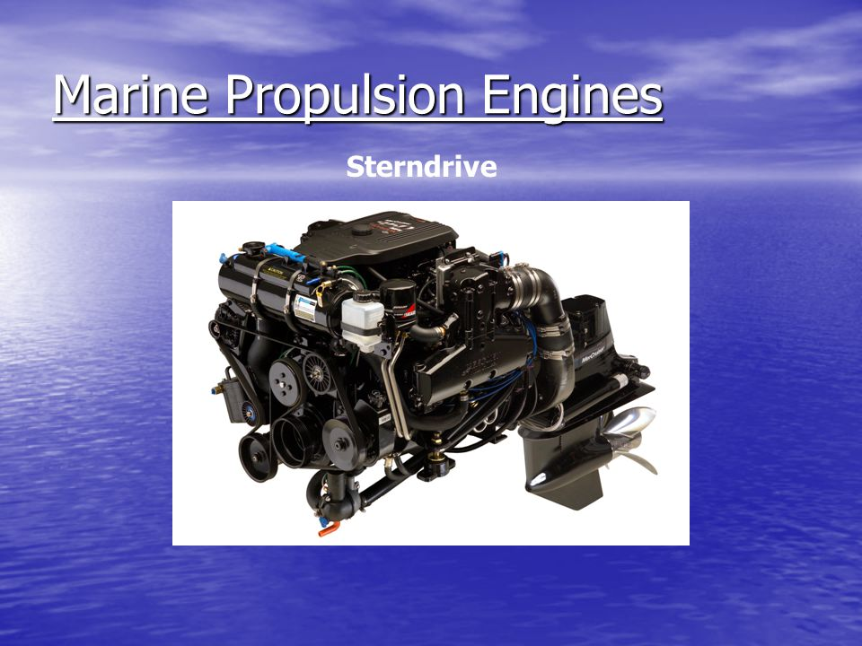 Marine Propulsion Engines Outboard