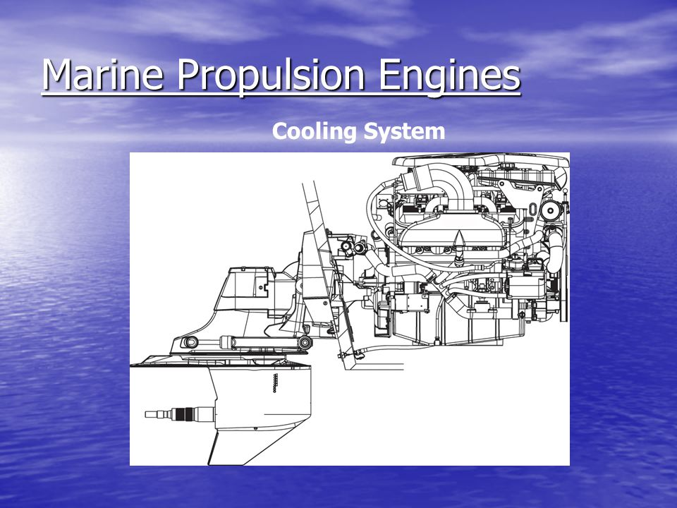 Marine Propulsion Engines Cooling System