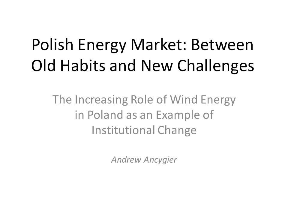 Wind Energy in Poland: Ambitious Plans According to Polish Statistical Office until the end of October there were 282 Windmills installed in Poland with a total capacity of 666,3 MW.