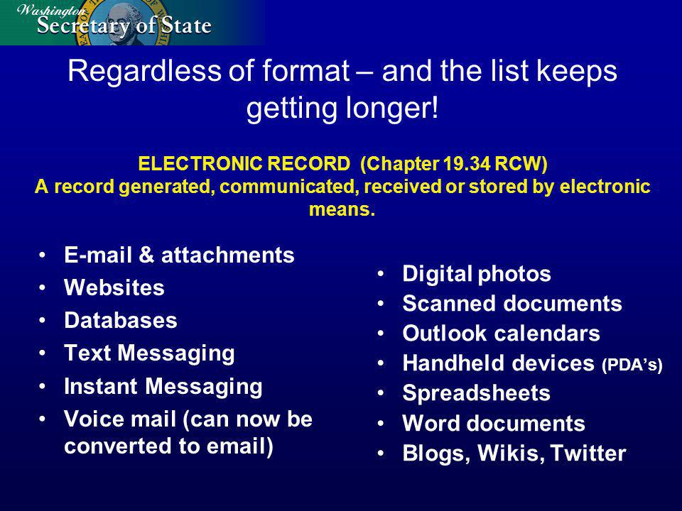 Youve got all these electronic records Now what?