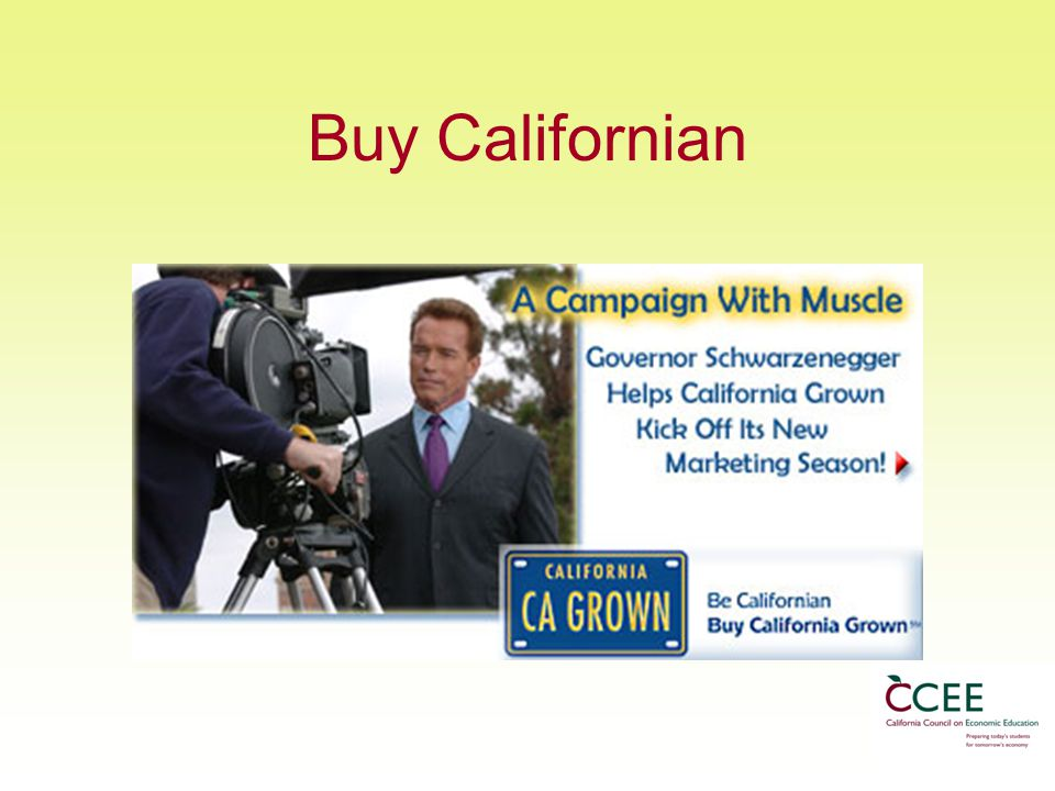 Buy Californian