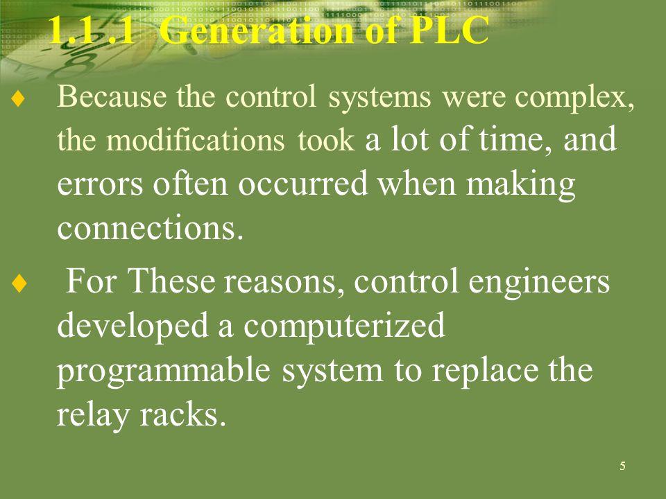 26 1.3 PLC Selection Criteria PC or PLC.