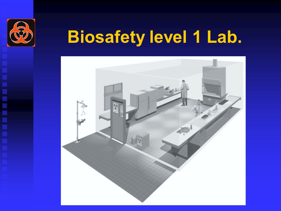 Biosafety level 1 Lab.