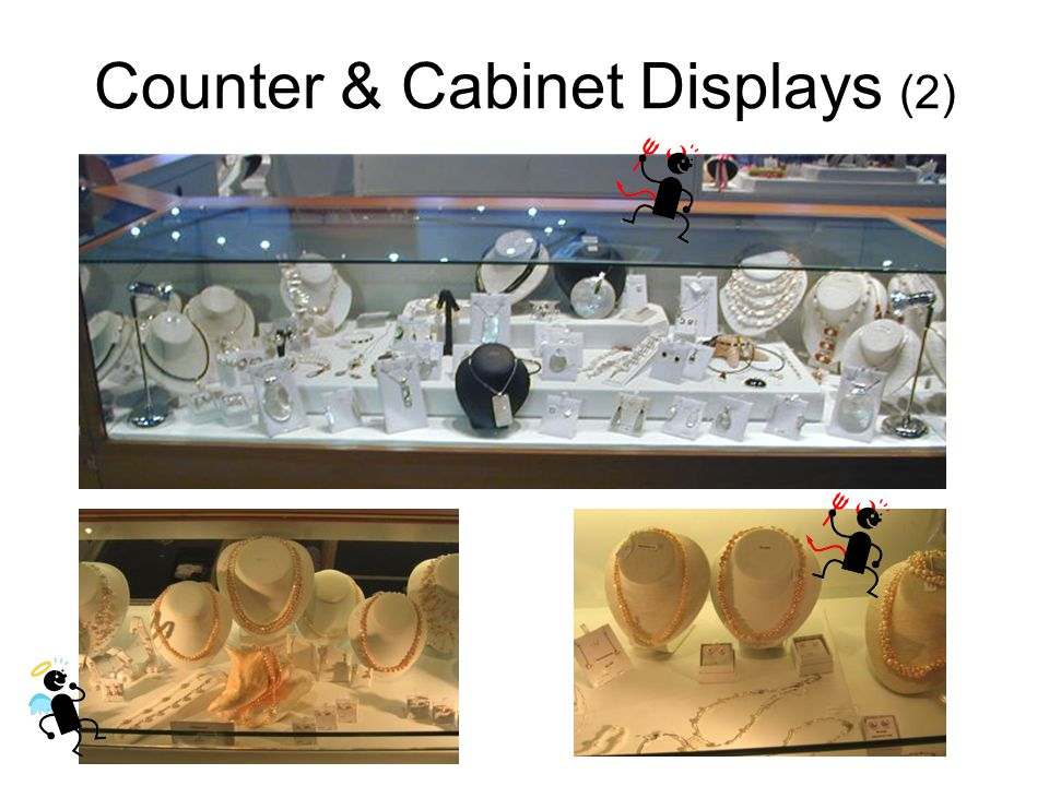 Counter & Cabinet Displays (2)