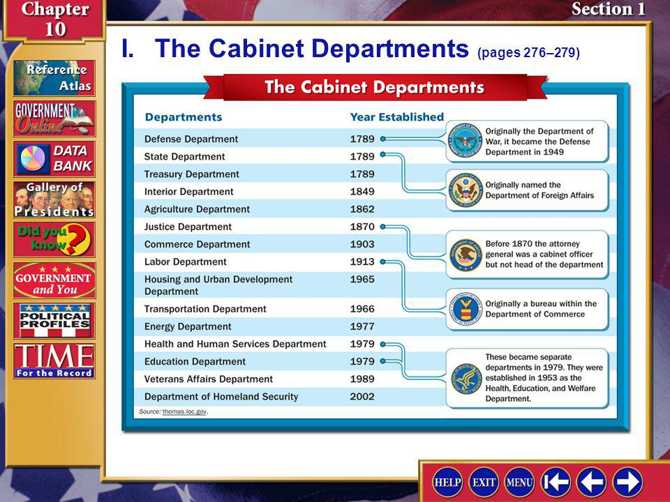 Section 1-2 A.The Founders anticipated the need for federal agencies to carry on the daily business of government; currently nearly 3 million civilian