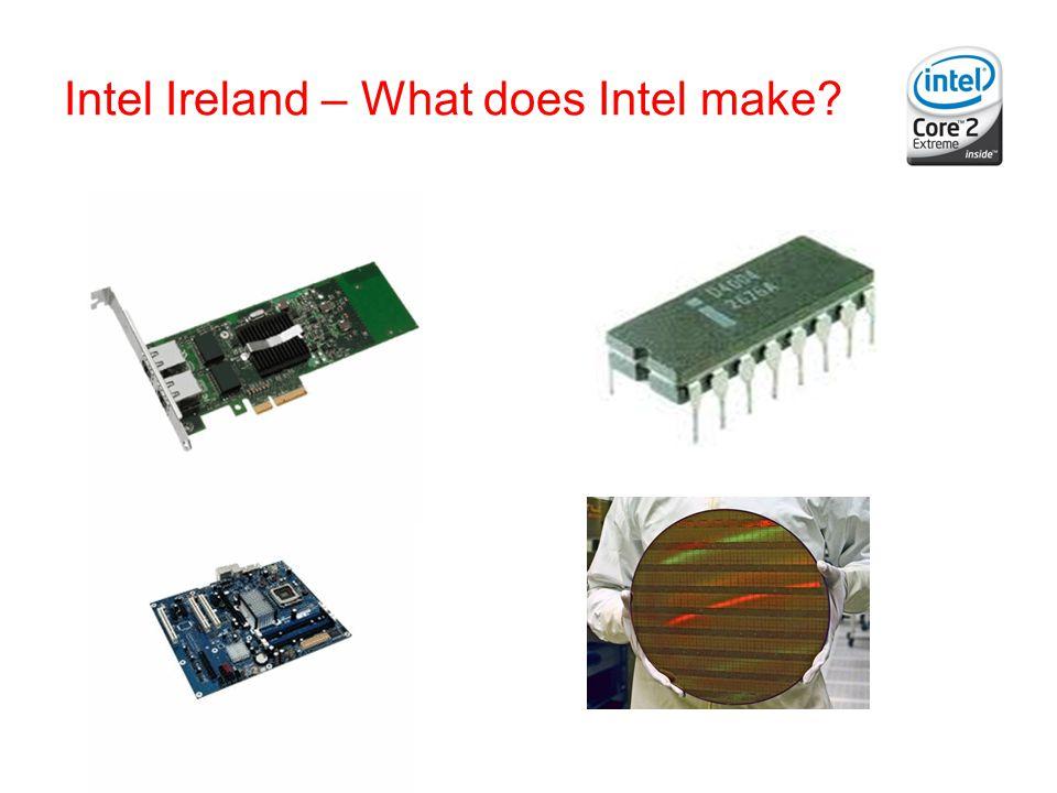 Intel Ireland – What does Intel make?
