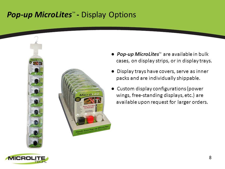 9 Contact Us John Teel CEO/President MicroLite Tech, Inc.