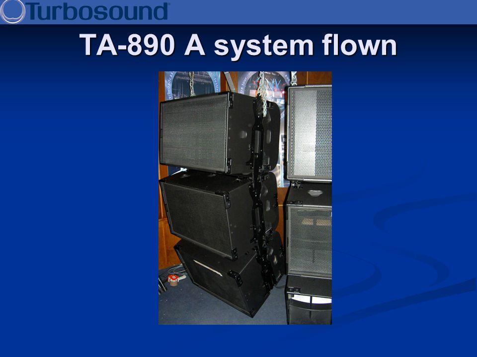 TA-890 A system flown