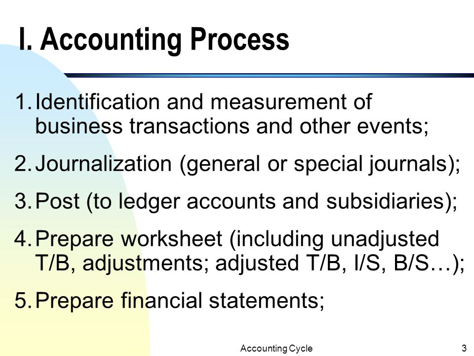 Accrual Accounting and the Financial Statements33 Adjusting Entries n Due to the periodicity concept, financial reports are prepared periodically.